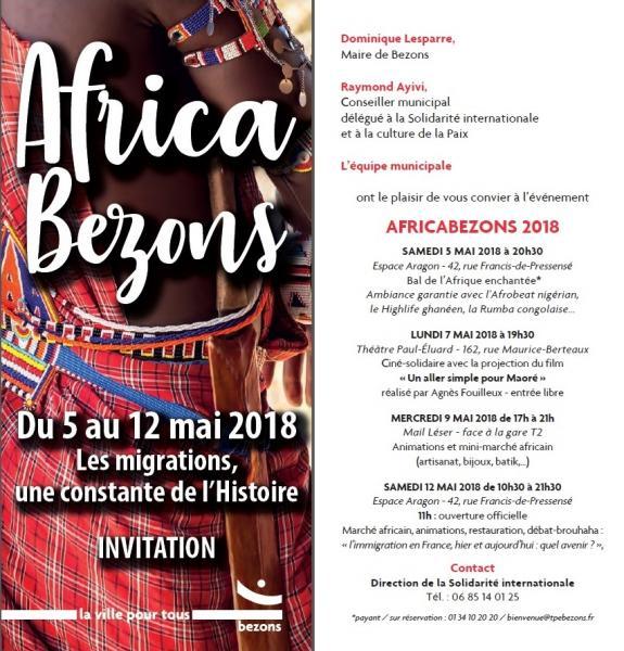 AFRICABEZONS 2018 (Africa Bezon)