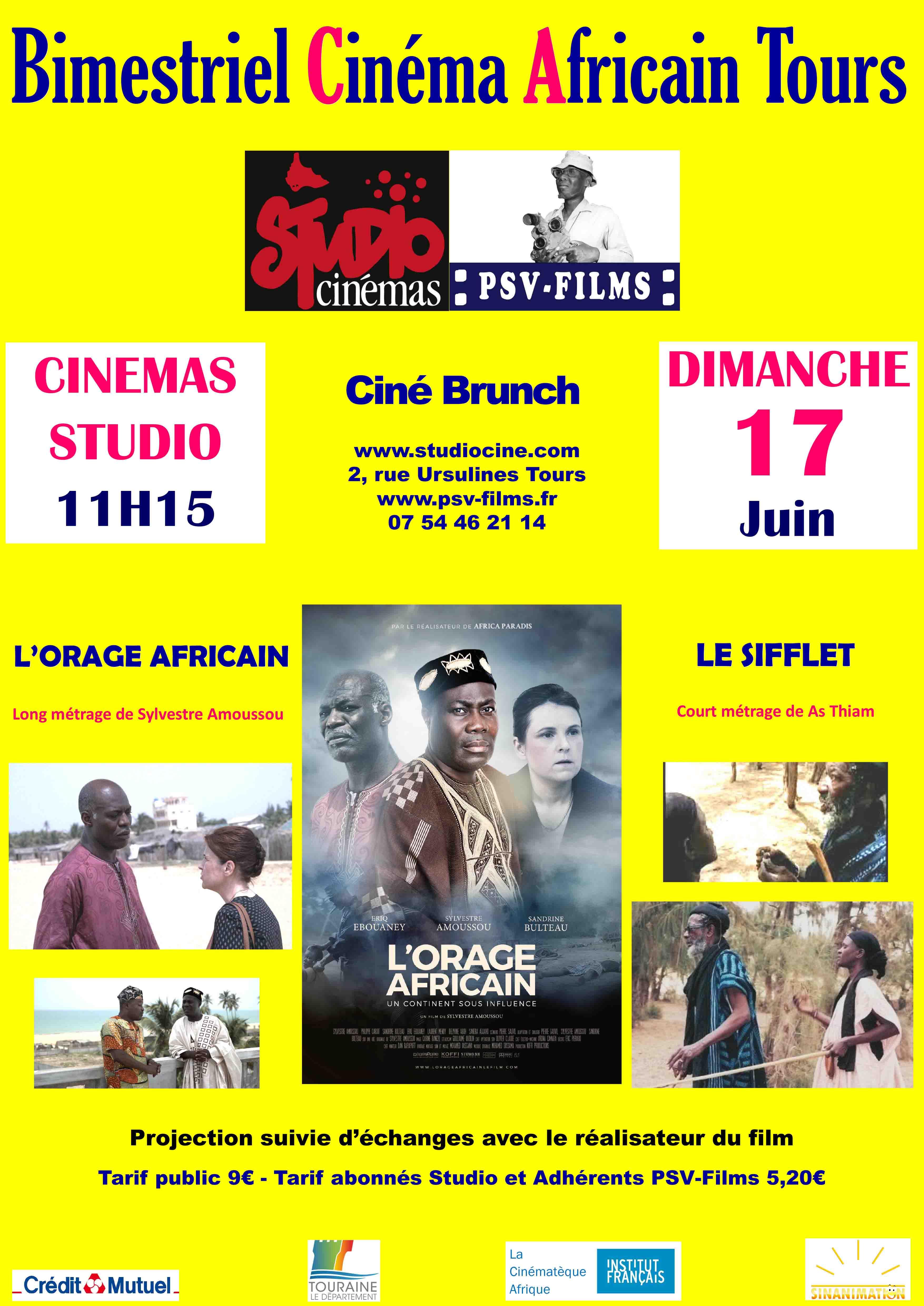12ème BACT - Bimestriel du Cinéma Africain de Tours avec [...]