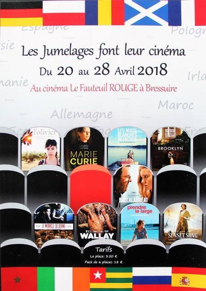 Les jumelages font leur cinéma 2018 / 5è Festival du Film [...]