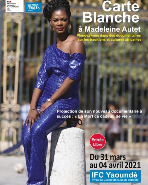 Carte Blanche à Madeleine Autet, Yaoundé