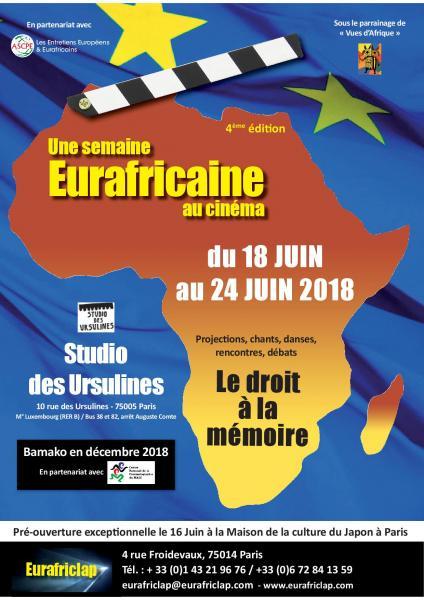 Une semaine Eurafricaine au cinéma 2018