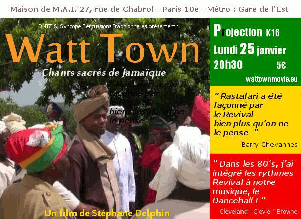 Film : Watt Town : chants sacrés [...]