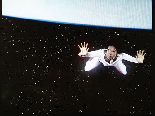 Une Africaine dans l'espace