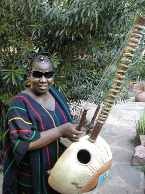 Korafola, the kora player