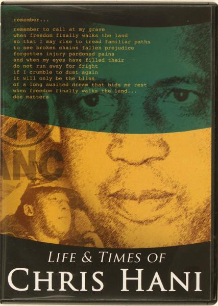LIFE AND TIMES OF CHRIS HANI (THE)