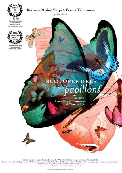 Scolopendres and butterflies