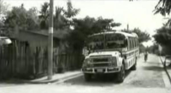 Un bus para Palenque