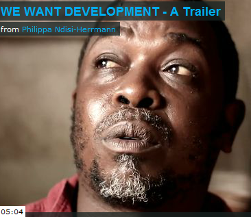 We Want Development, (but at what [...]