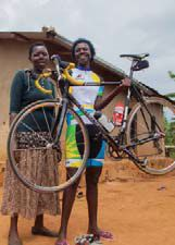 Fastest woman in Africa
