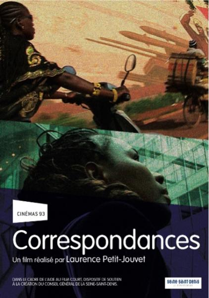 Projection de CORRESPONDANCES de  Laurence Petit-Jouvet / I [...]