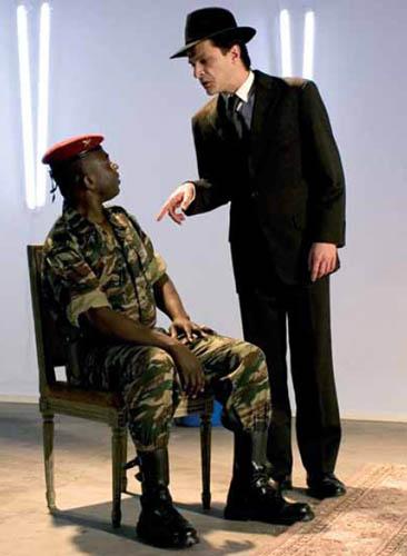 Mitterrand et Sankara