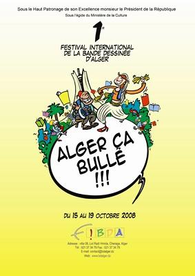 Affiche FIBDA 2008