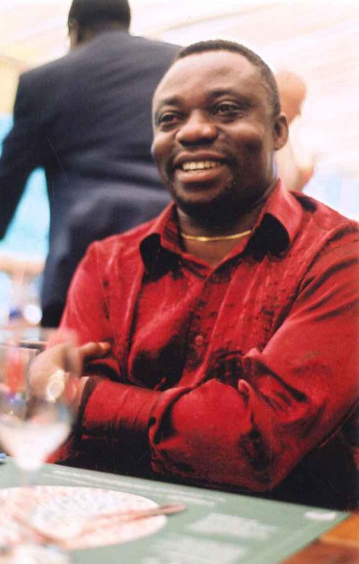 Albert Tshisuaka - Portrait