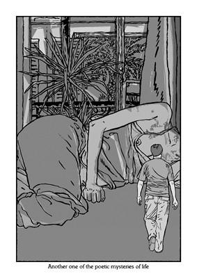 Encore un des mystères poétiques de la vie (Impression digitale, tirage limité) - 2010