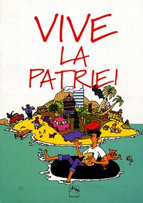 Vive la patrie (couverture), Ed. Le cri du lézard - 1998