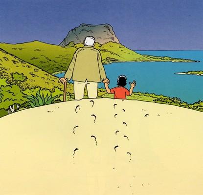 L'Île Maurice racontée à mon petit fils (extrait), Ed. Le cri du lézard - 1999
