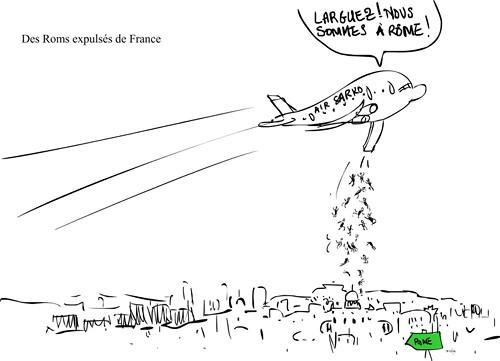 Des roms expulsés de France - 2010
