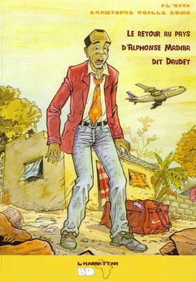 Le retour au pays d'Alphonse Madiba dit Daudet (couverture), L'harmattan BD, 2010.