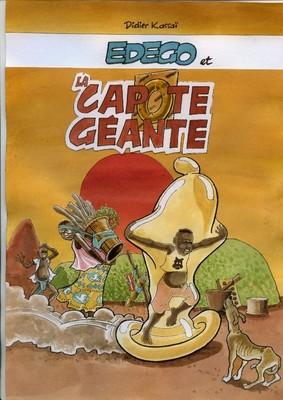Edego et la capote géante (couverture) - 2002