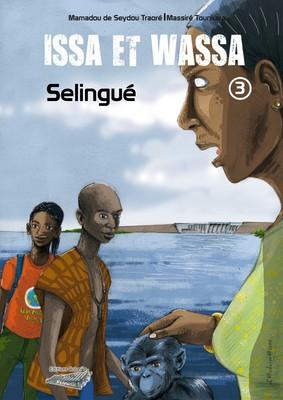 Issa et Wassa T.3 (projet de couverture), Ed. Balani's