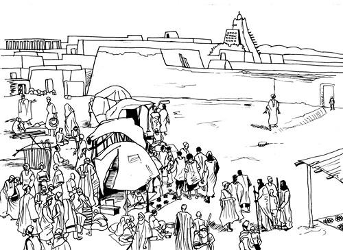 Tombouctou, les voyageurs du temps (projet)