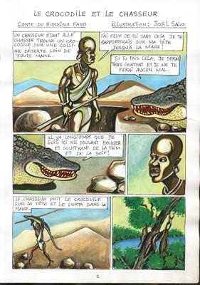 Le crocodile et le chasseur (extrait) - 2009