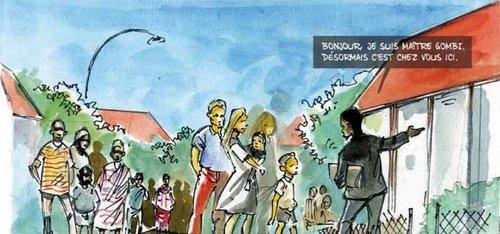 image extraite de Thembi et Jetje - Tisseuses de l'arc-en-ciel
