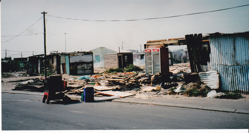 Squatter camp, 2003