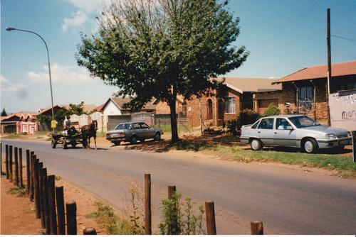 Soweto Dlamini (quartier résidentiel de Soweto)