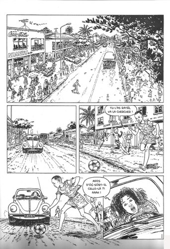 Jungle urbaine de Thembo kash, planche 1