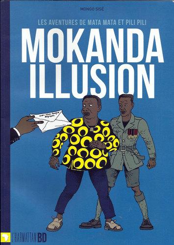 Couverture de  Mokanda illusion de Mongo Sisé