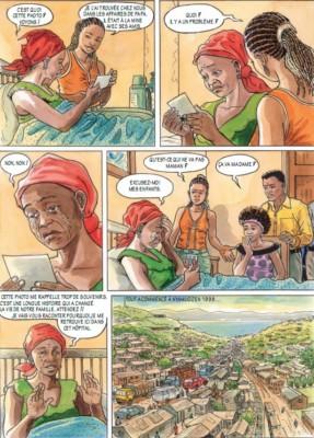 Les diamants de Kamitunga, page 2.