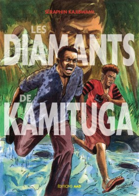 Les diamants de Kamitunga, première de couverture.