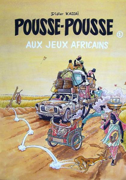 Pousse-pousse de Didier Kassaï