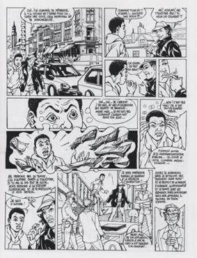 La double pénalité - Africa comics 2003 (extrait)