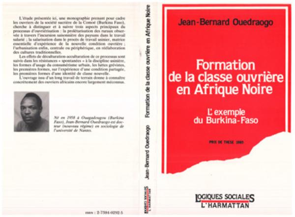 Formation de la classe ouvrière en Afrique Noire - [...]