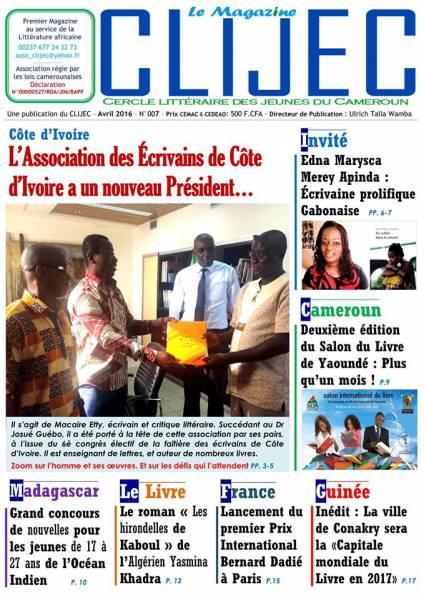 CLIJEC, le Mag' - Numéro 007 - Avril 2016