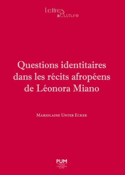 Questions identitaires dans les [...]