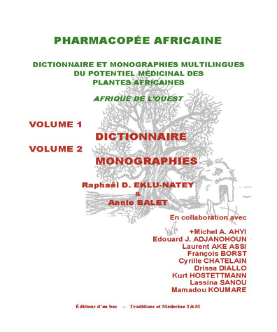 African pharmacopoeia. Multilingual dictionary and [...]