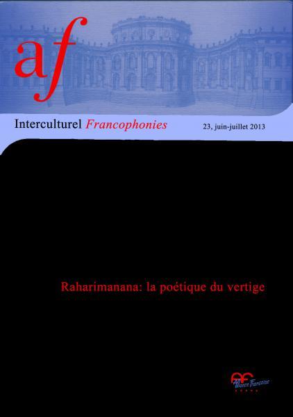 Raharimanana: la poétique du vertige