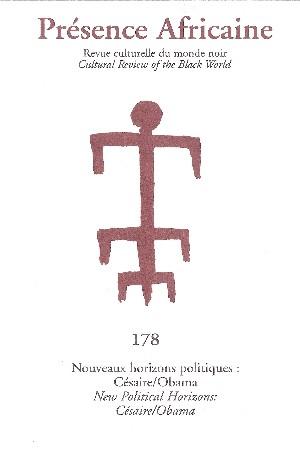 Revue Présence Africaine n° 178 - Nouveaux Horizons [...]