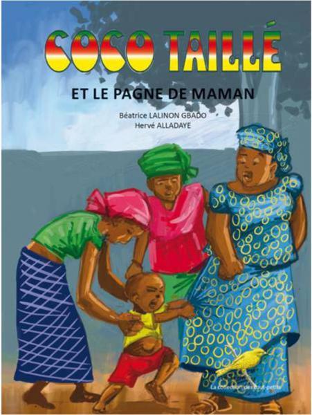 Coco taillé et le pagne de Maman