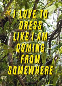 I love to dress like I am coming [...]