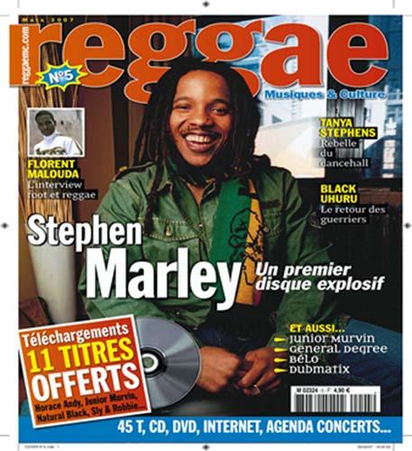 Stephen Marley, un premier disque explosif