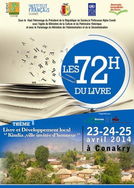 Soixante-douze heures de littérature pour Conakry et la [...]