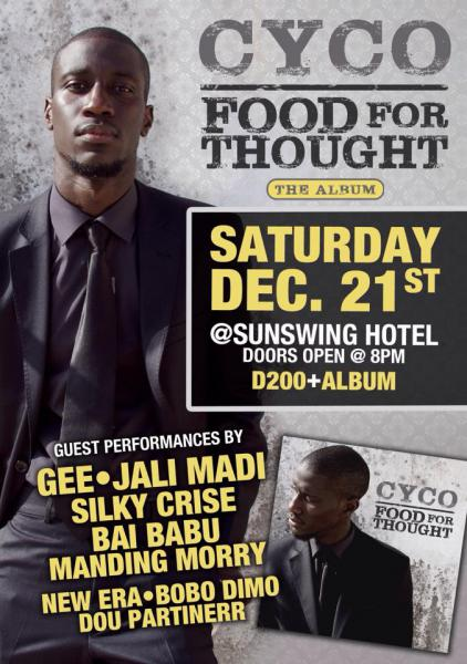 Gambia: Cyco debut Album -'Food [...]