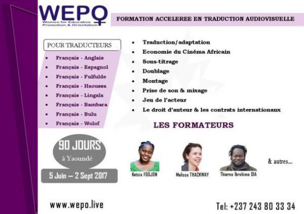 Yaoundé : Formations cinéma, en [...]