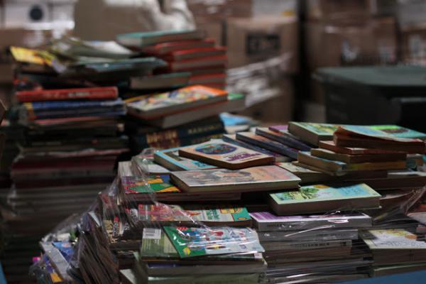 Le don de livres