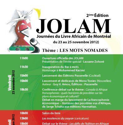 Journées du livre africain de Montréal - Hommage à [...]