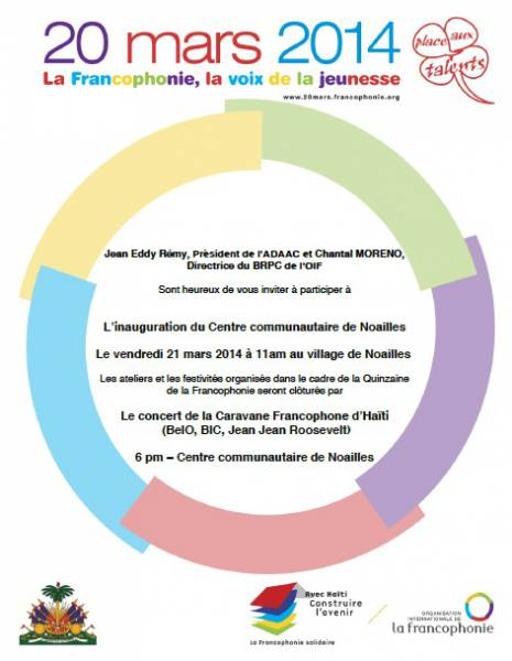 Inauguration du Centre [...]
